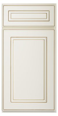 Brantley Antique White Glaze Sample Door