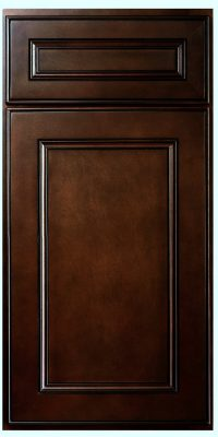 Brantley Chocolate Glaze Sample Door
