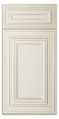 Cambridge Antique White Glaze Sample Door