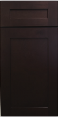 Dark Chocolate Shaker Sample Door