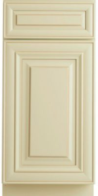 French Vanilla Glaze Sample Door