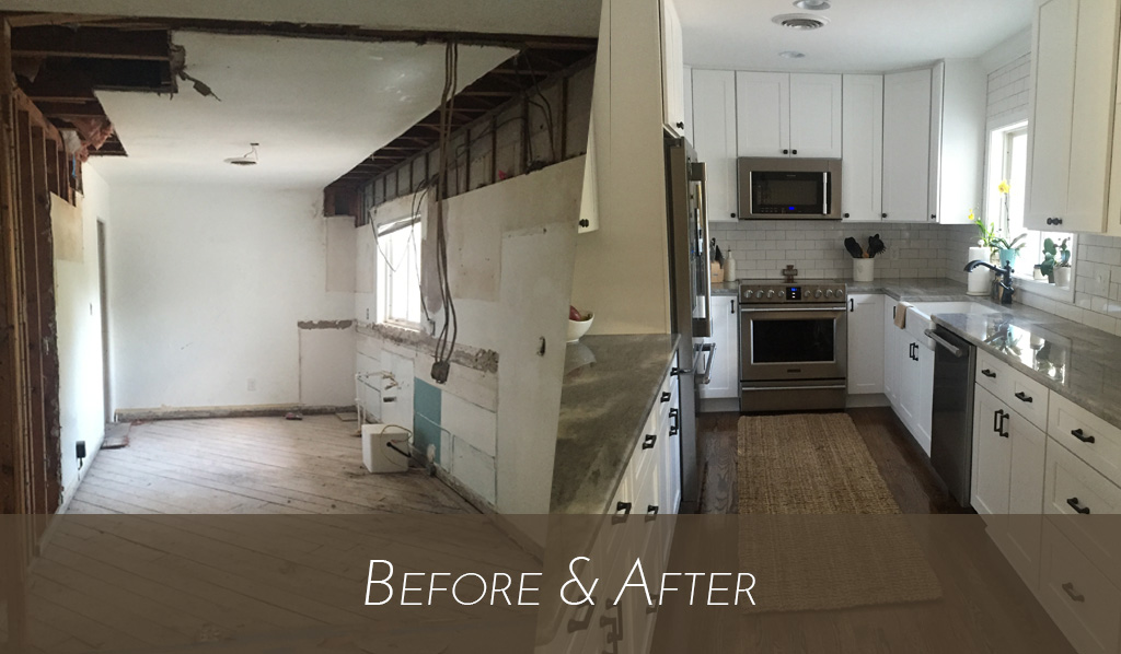 Kitchen – Before & After